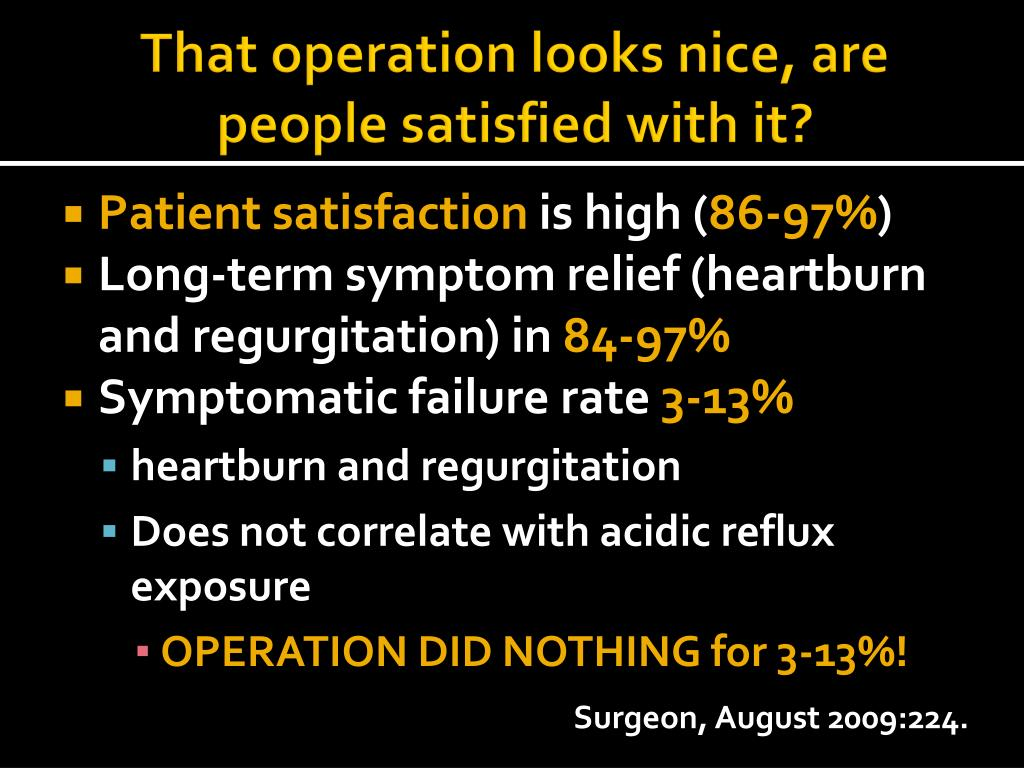 That operation looks nice, are people satisfied with it?