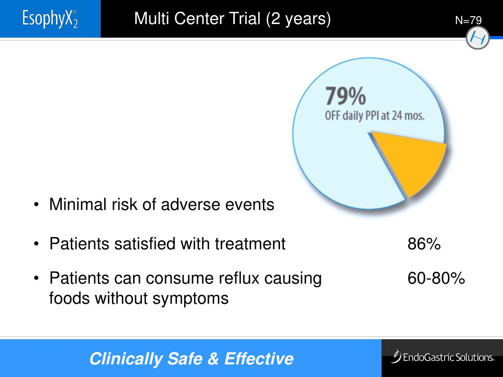 Multi Center Trial (2 years)
