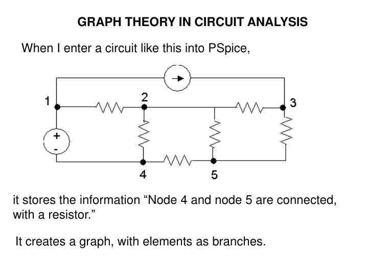 GRAPH THEORY IN CIRCUIT ANALYSIS