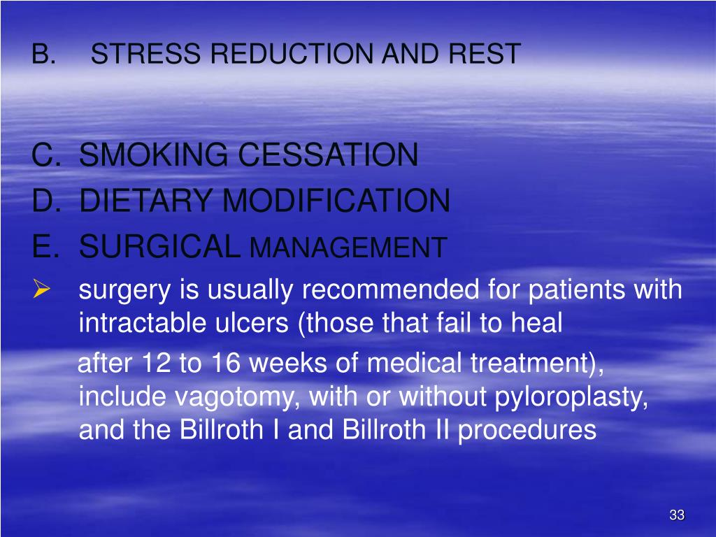 STRESS REDUCTION AND REST