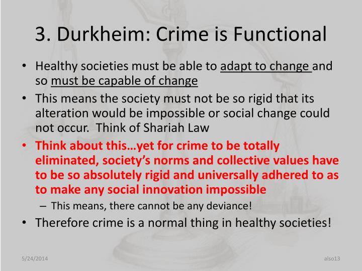 3. Durkheim