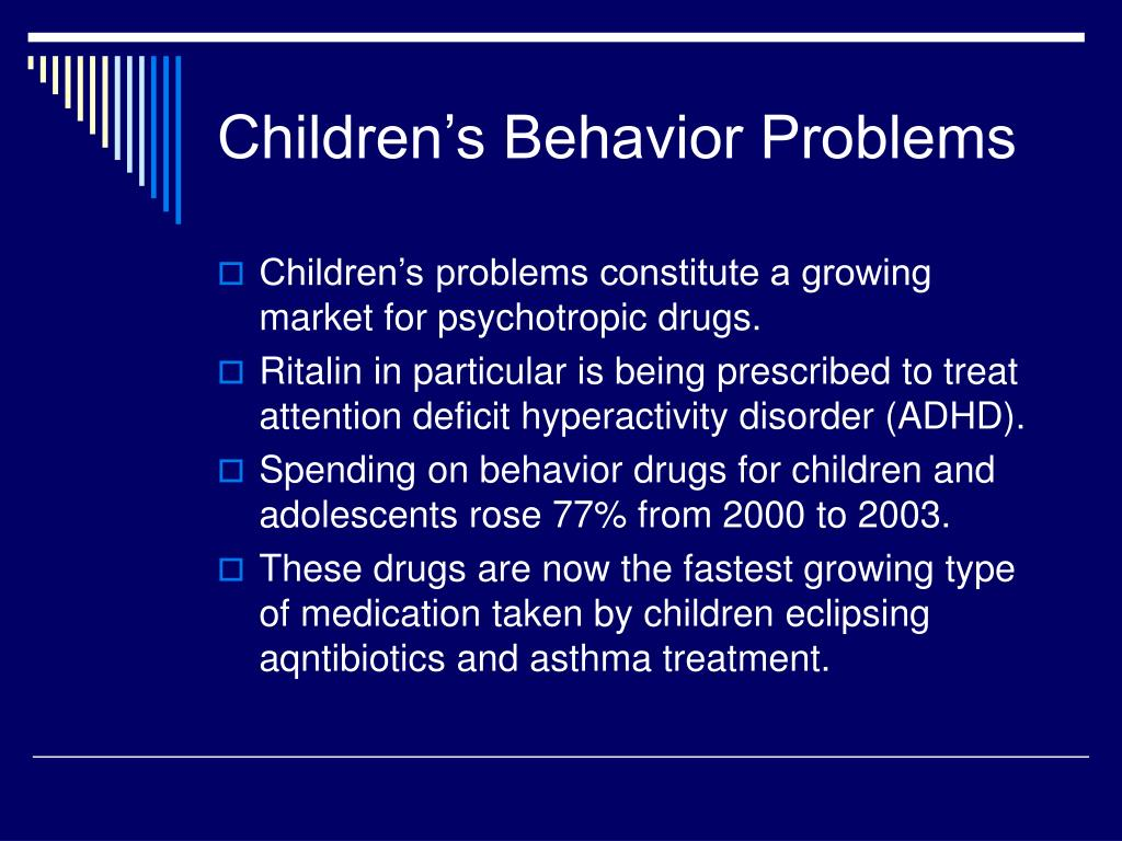 Children's Behavior Problems