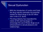 sexual dysfunction11
