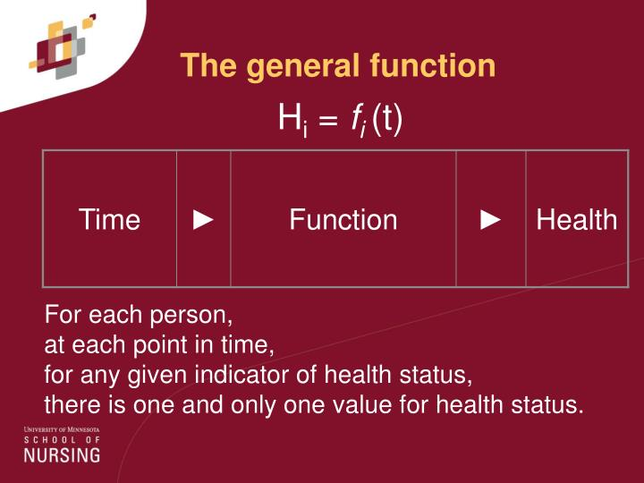The general function