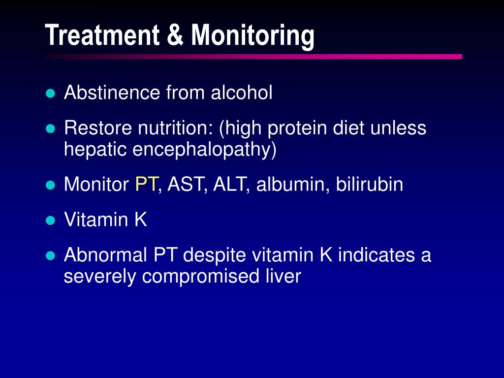 Treatment & Monitoring