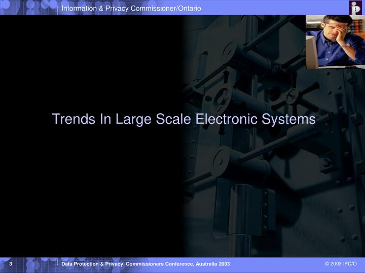 Trends in large scale electronic systems