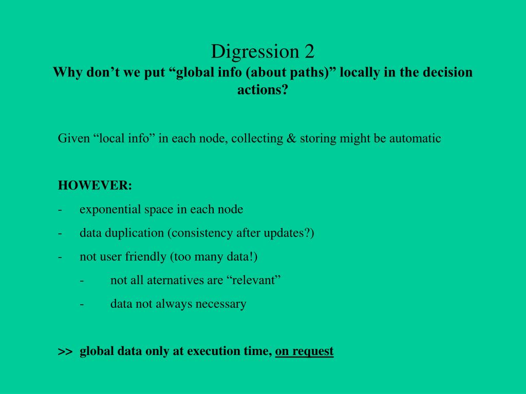 Digression 2
