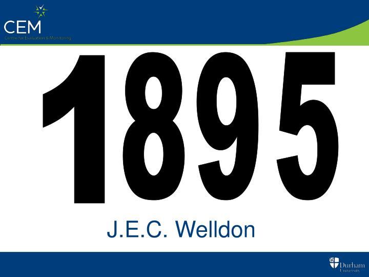 J.E.C. Welldon