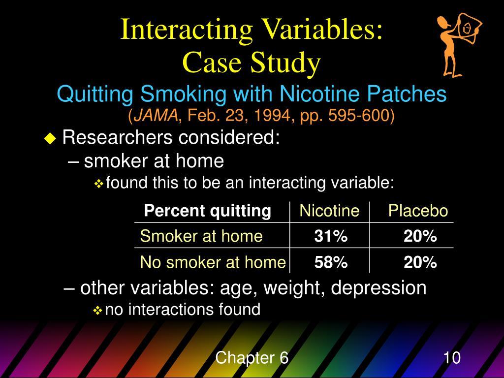 Percent quitting