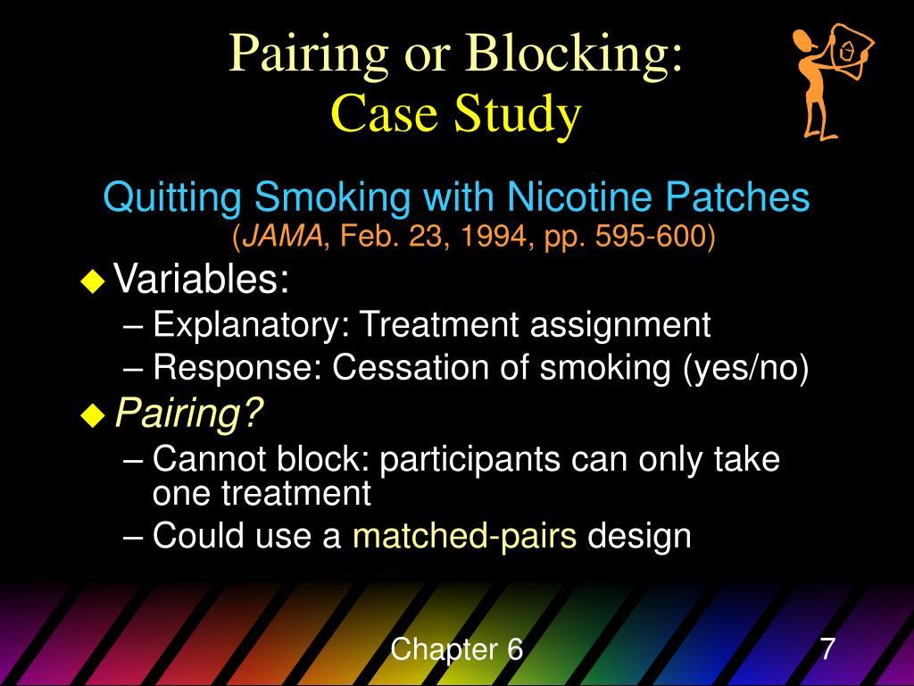 Pairing or Blocking: