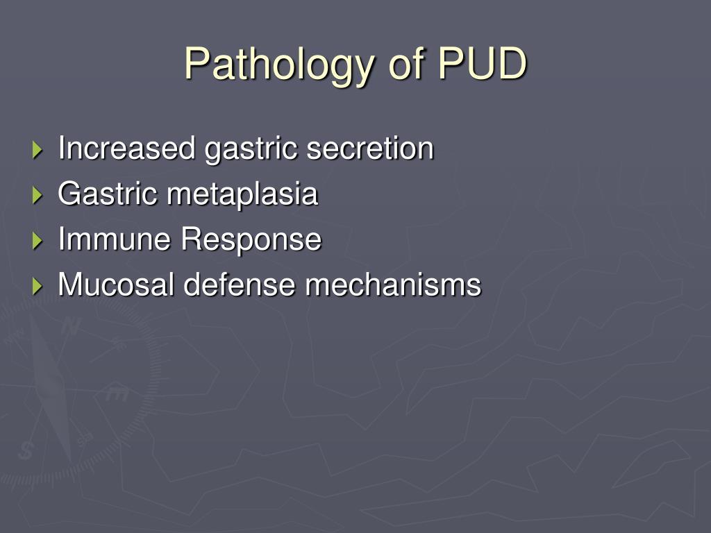 Pathology of PUD