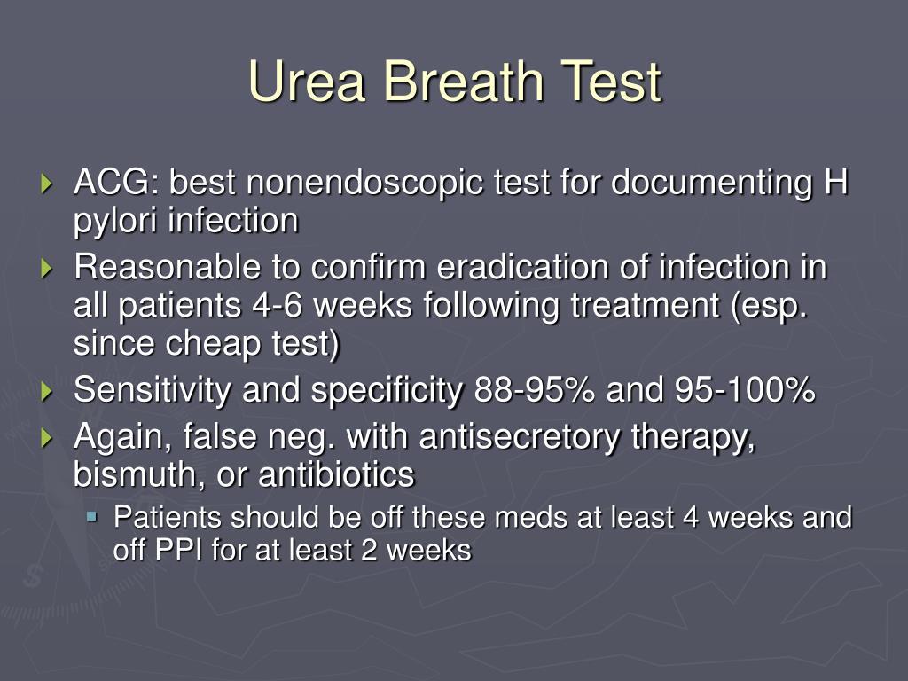 Urea Breath Test