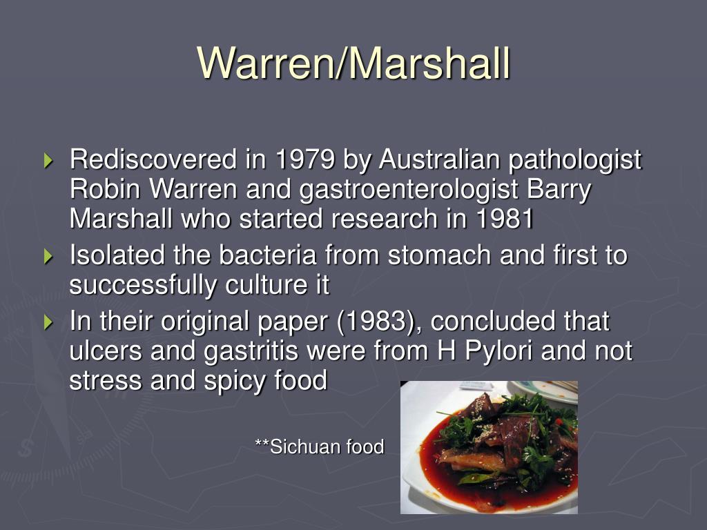 Warren/Marshall