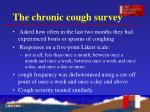 the chronic cough survey10