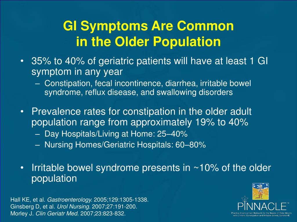 GI Symptoms Are Common