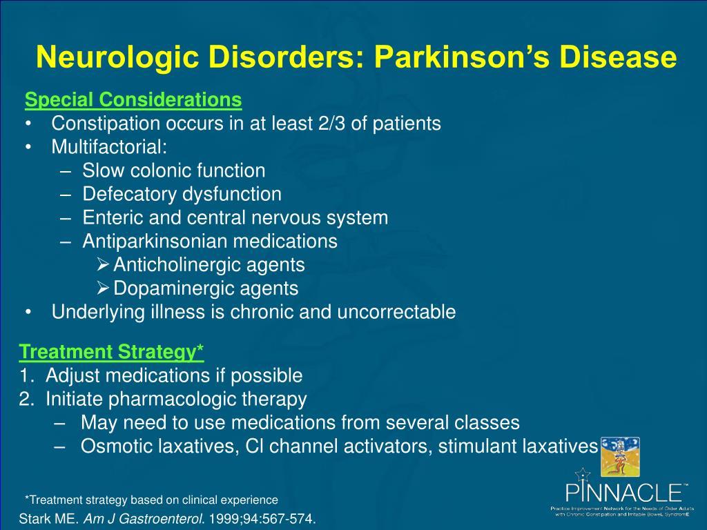 Neurologic Disorders: Parkinson's Disease