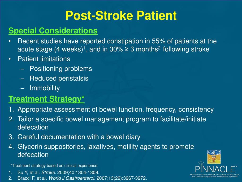 Post-Stroke Patient