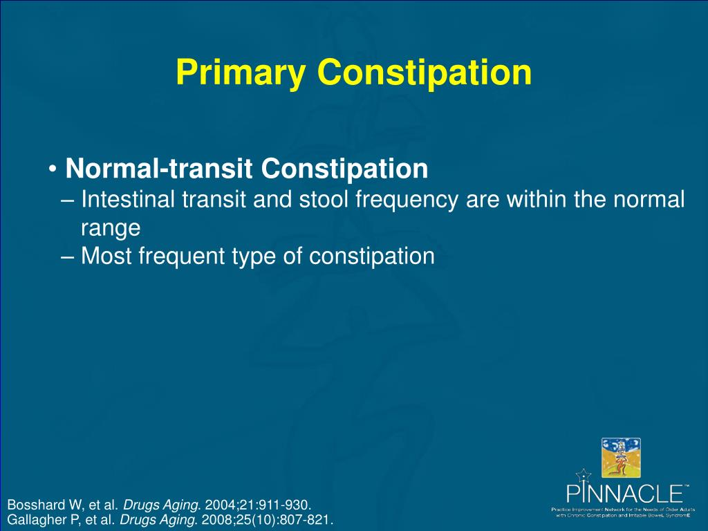 Primary Constipation