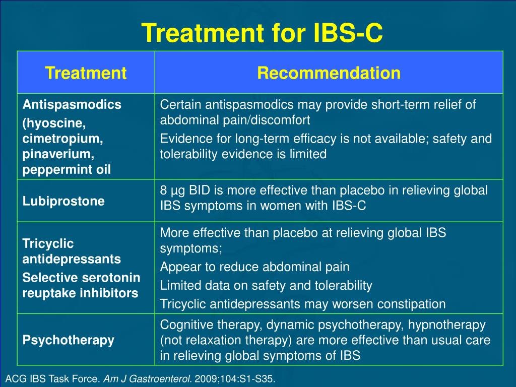 Treatment for IBS-C