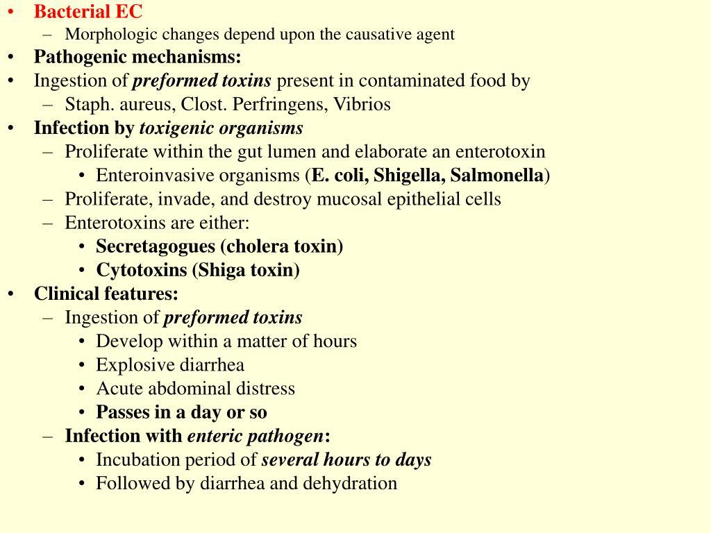 Bacterial EC