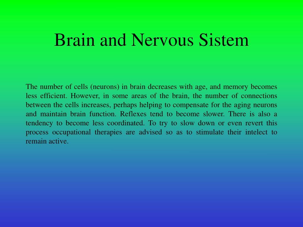 Brain and Nervous Sistem