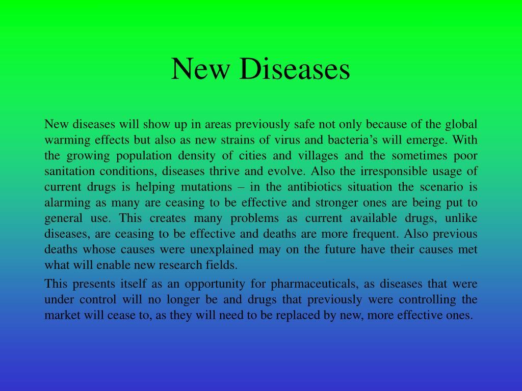 New Diseases