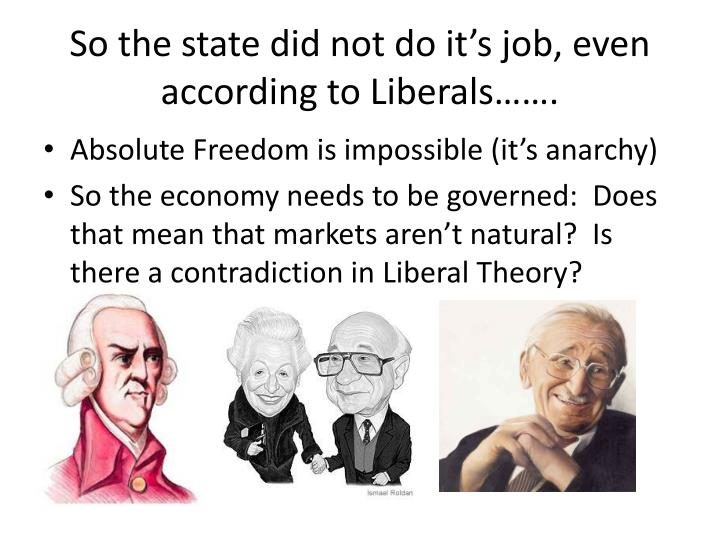 So the state did not do it's job, even according to Liberals…….