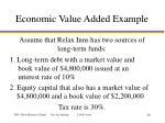 economic value added example