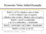 economic value added example2