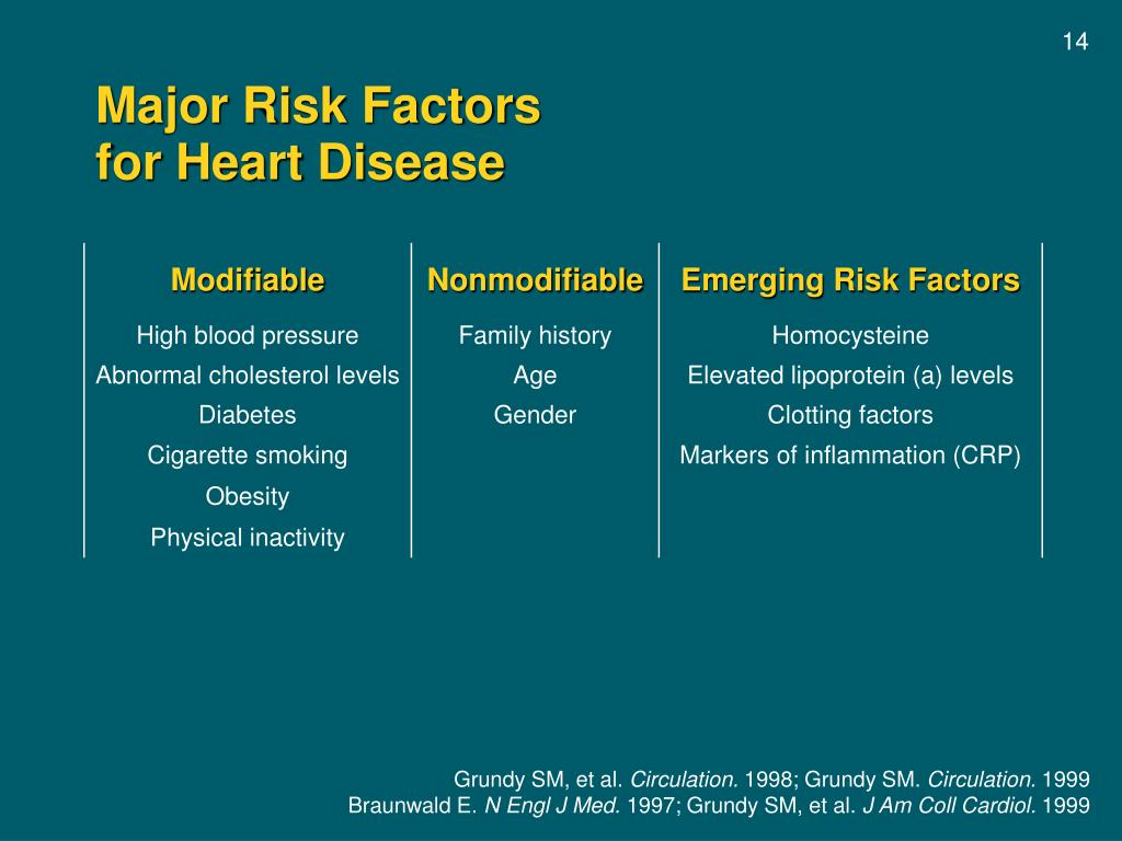 Major Risk Factors