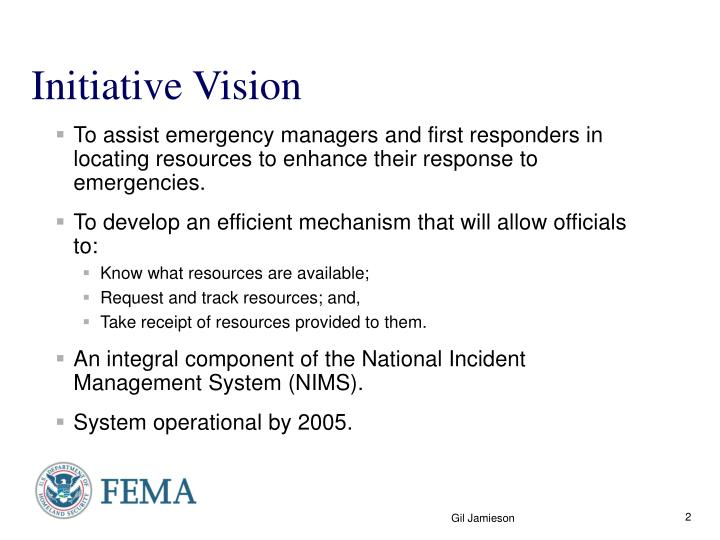 Initiative Vision