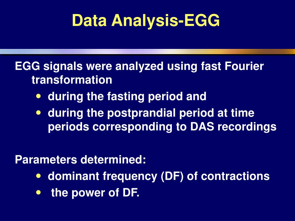 Data Analysis-EGG