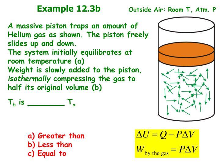 Example 12.3b