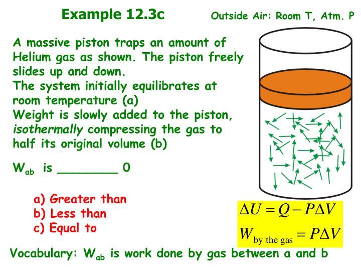 Example 12.3c