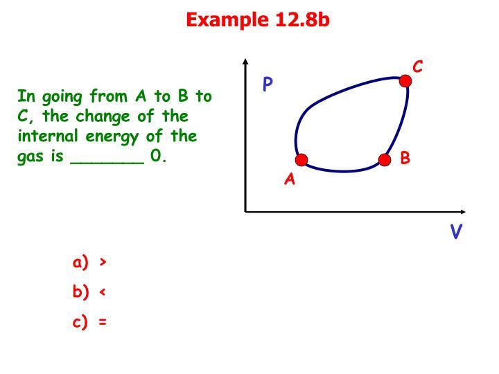 Example 12.8b