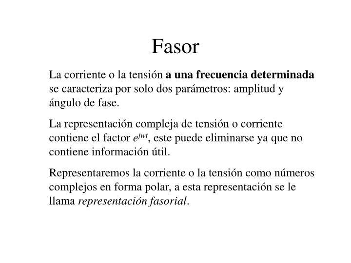 Fasor