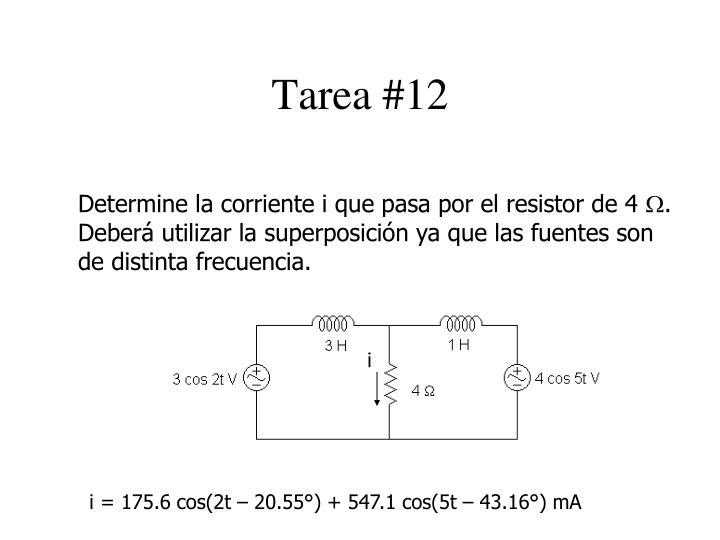 Tarea #12