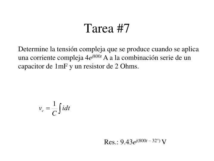 Tarea #7