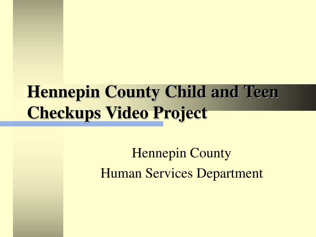 Hennepin County Child and Teen Checkups Video Project