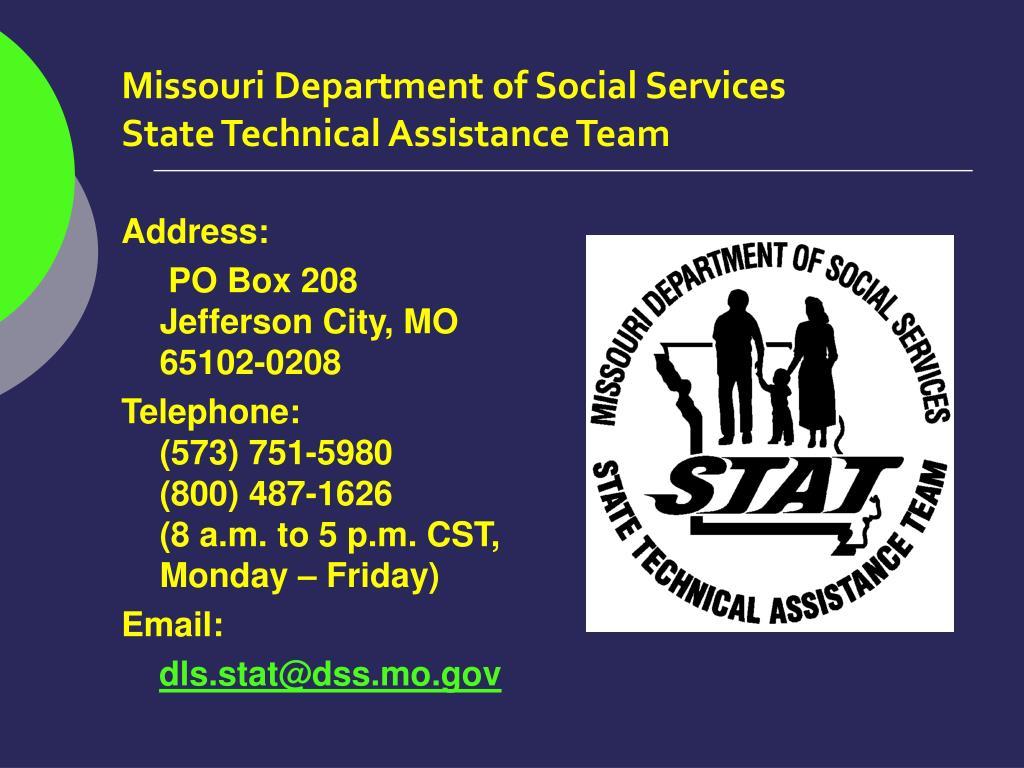 Missouri Department of Social Services