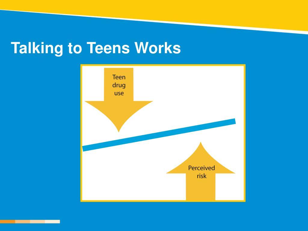 Talking to Teens Works