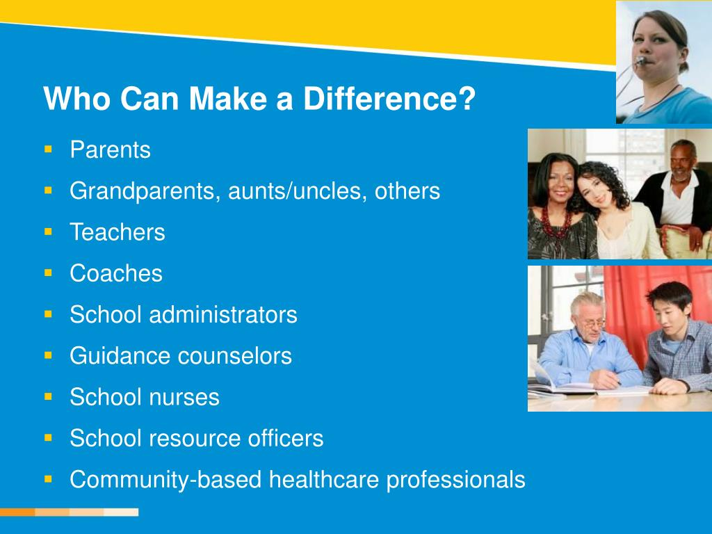 Who Can Make a Difference?
