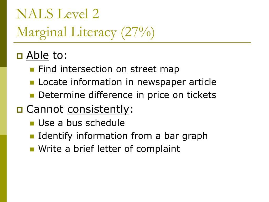NALS Level 2