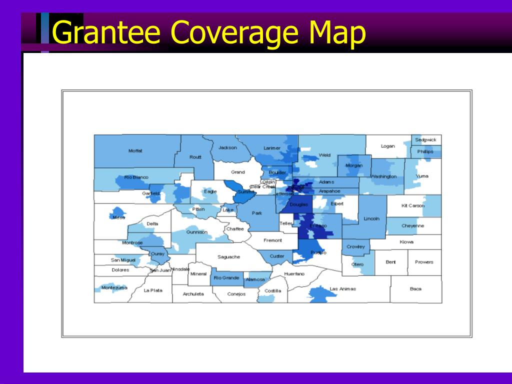 Grantee Coverage Map