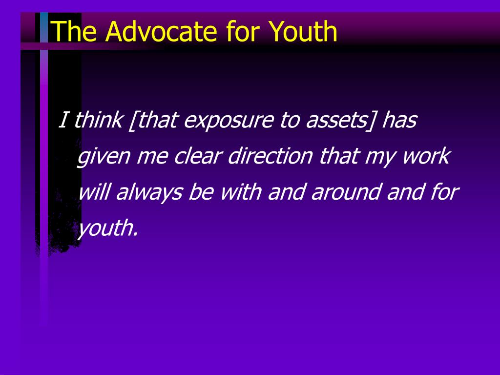 The Advocate for Youth