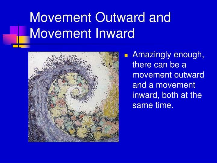 Movement Outward and Movement Inward