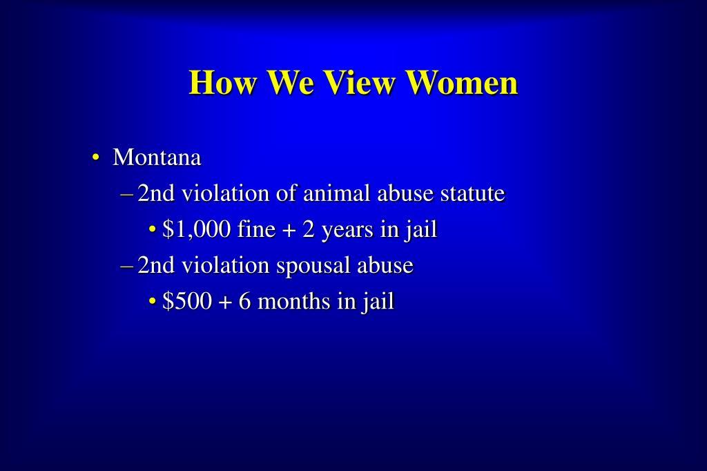 How We View Women