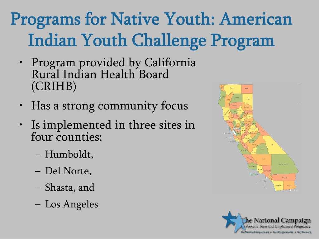 Programs for Native Youth: American Indian Youth Challenge Program
