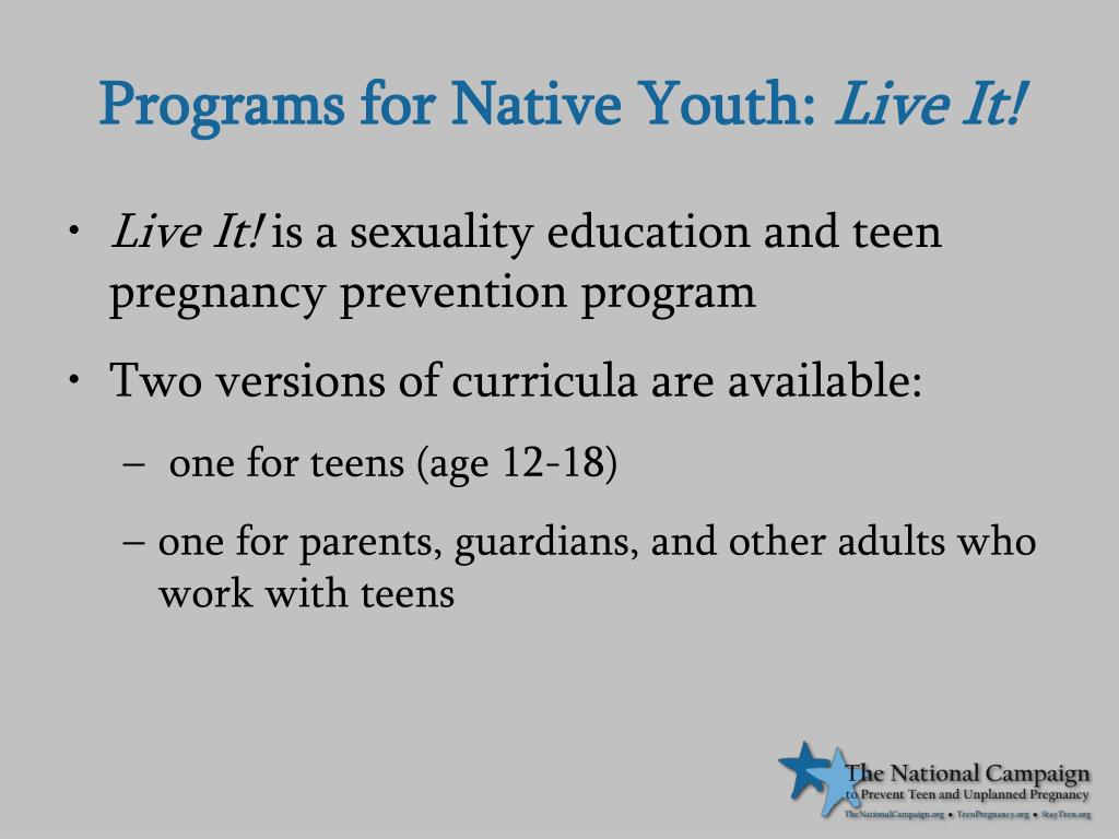 Programs for Native Youth: