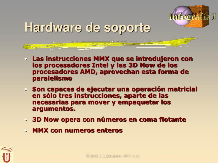 Hardware de soporte